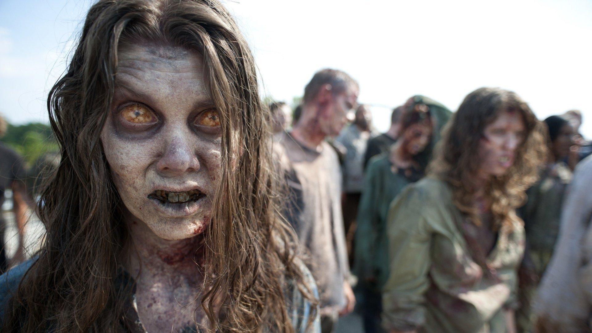 фото из ходячих мертвецов зомби