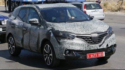 В Сети появились первые снимки кроссовера Renault Koleos