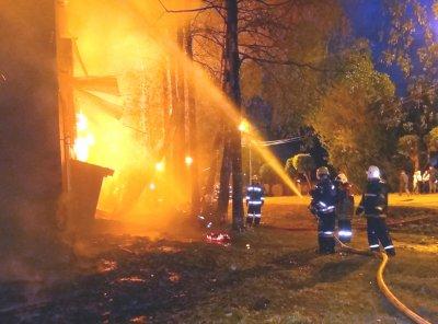 В Ленобласти при пожаре погиб мужчина