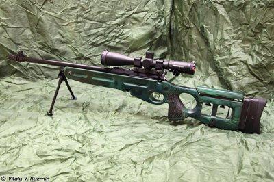 На вооружение ВДВ добавлена новая снайперская винтовка СВ-98