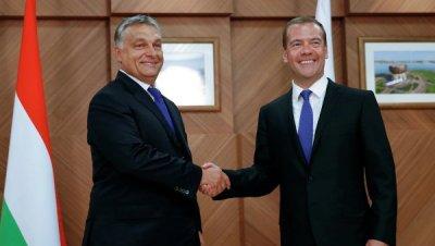 Медведев заявил о прекрасных отношениях Венгрии и России