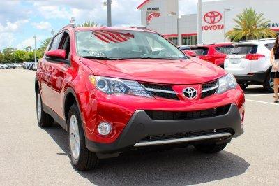 Лидером продаж в SUV сегменте в июле стала Toyota RAV-4