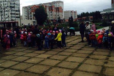 В Татарстане из-за предмета, напоминающего бомбу, эвакуировали детсад