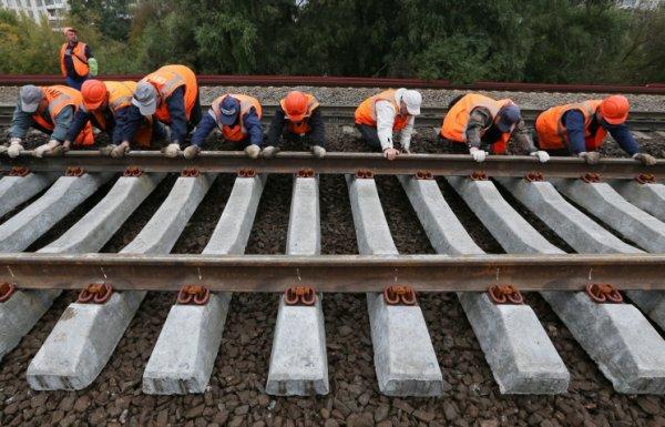 Строительство железной дороги в обход Украины идет с опережением срока