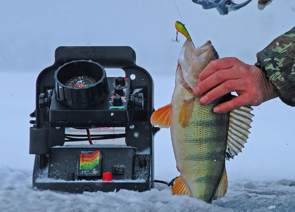 техника подледной рыбалки