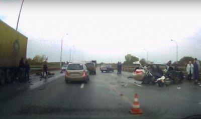 В Башкирии произошло серьёзное ДТП, два человека погибли