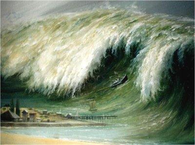 В Японии нашли следы цунами, произошедшего около 2 тысяч лет назад