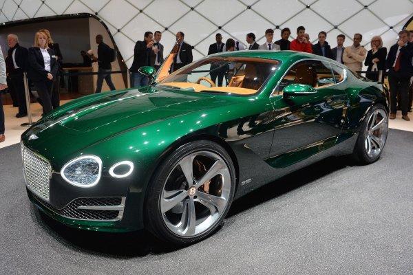 Bentley к 100-летнему юбилею может создать гиперкар