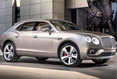 Кроссовер Bentley Bentayga получил спортпакет стайлинга