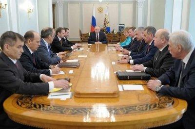 Песков: Владимир Путин провел собрание Совета Безопасности РФ