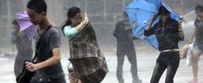 На Китай надвигается мощный тайфун «Мучжигэ»