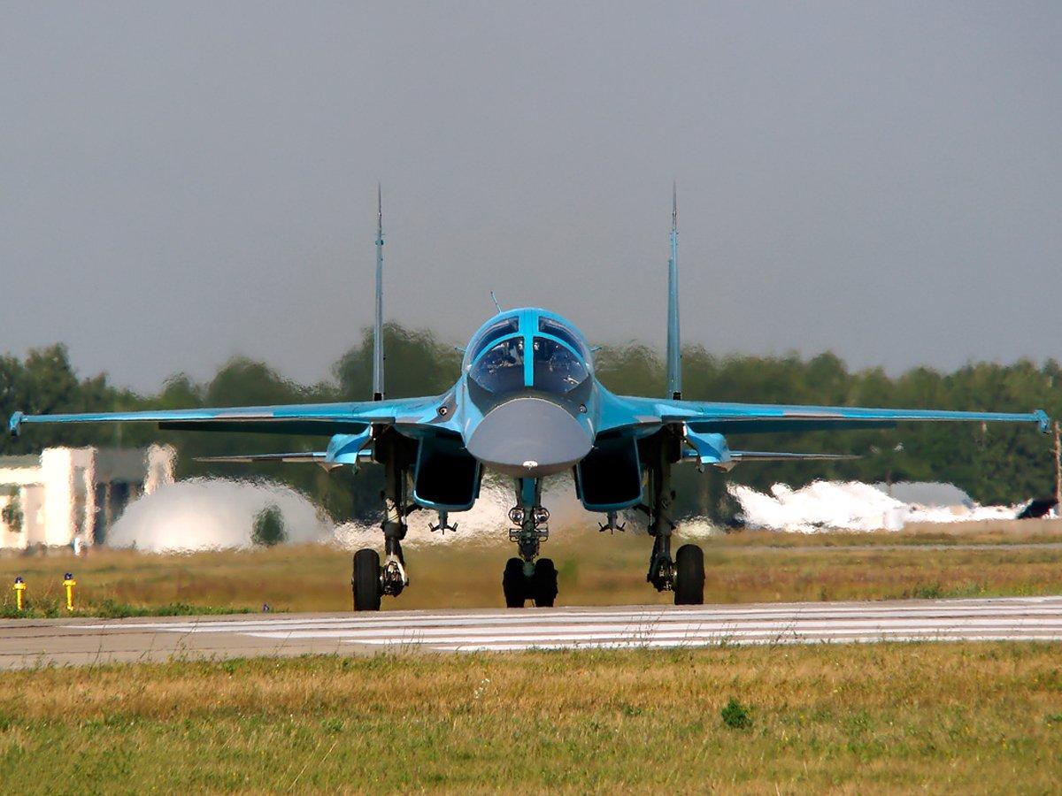 Vídeo: Su-34 durante exercícios no sul da Rússia