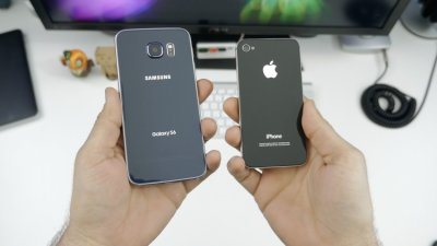 Samsung ������ ������ �� Galaxy Note 5 ��� S6 Edge+ �� ������ iPhone
