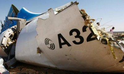 В Египте подтвердили данные о громком звуке перед крушением A321