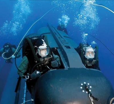 Возле газопровода «Северный поток» обнаружен диверсионный подводный аппарат