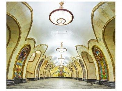 Канадский фотограф создал серию невероятных снимков московского метро