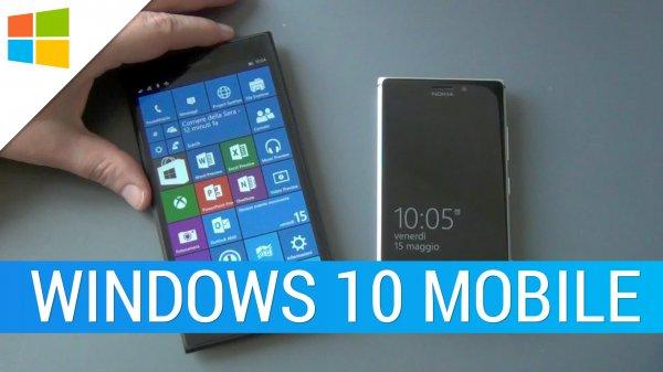Microsoft рассказала о главных новшествах Windows 10 Mobile