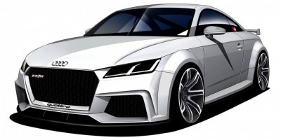 В Интернете опубликован рендер нового Audi TT RS Coupe