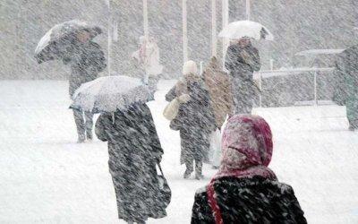 МЧС предупреждает о сильных снегопадах и гололеде в Калуге