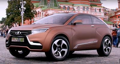 В Тольятти сняли первое видео тест-драйва LADA X-RAY