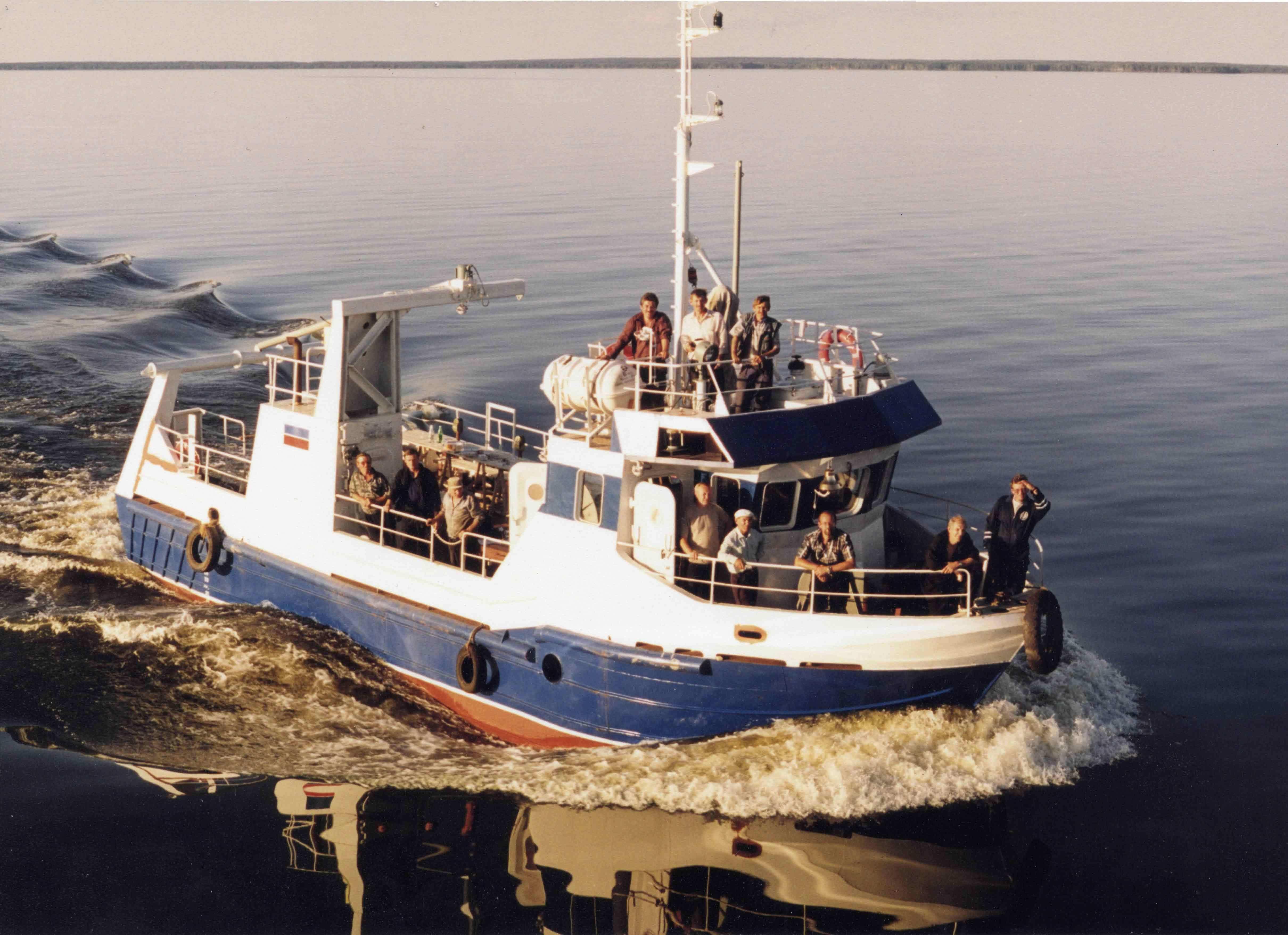 рыболовные траулеры