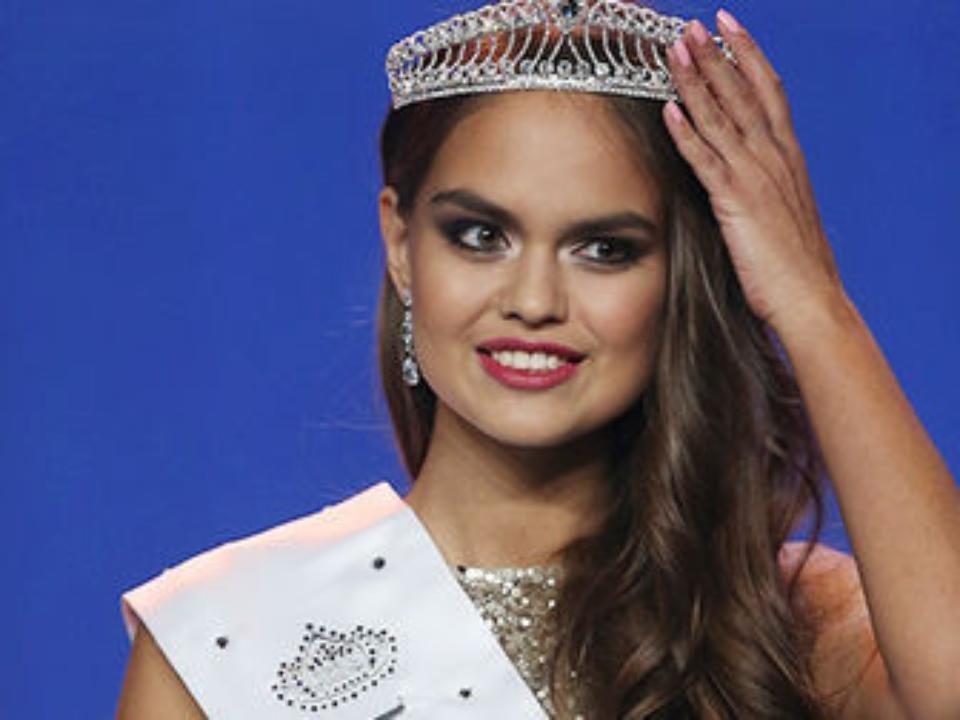 Участница конкурса мисс мира от россии