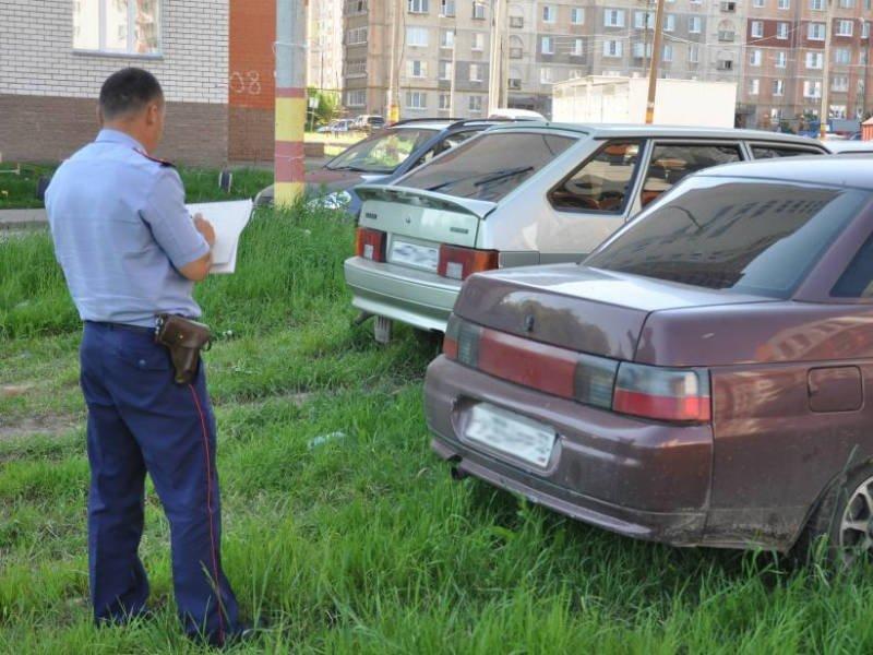 Хедрон, Штраф за парковку на газоне в москве учел