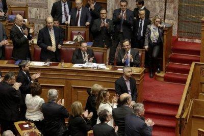 Парламент Греции принял госбюджет на следующий год