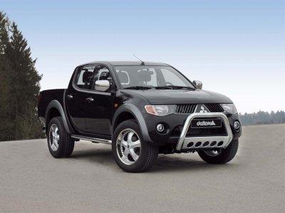 В сегменте пикапов на авторынке РФ 45% от продаж пришлись на Mitsubishi L200