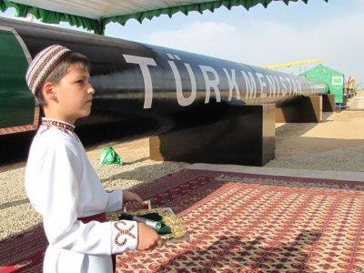 В Туркменистане начали строить участок газопровода ТАПИ
