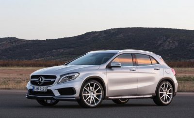 Mercedes-Benz GLA 2016 модельного года получит ряд обновлений