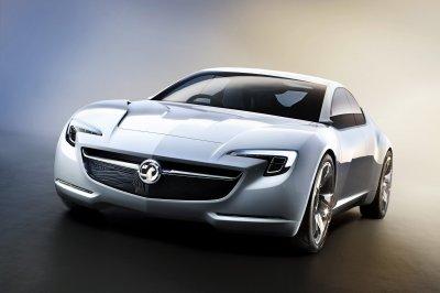 Opel представит концепт купе GT на автосалоне в Женеве