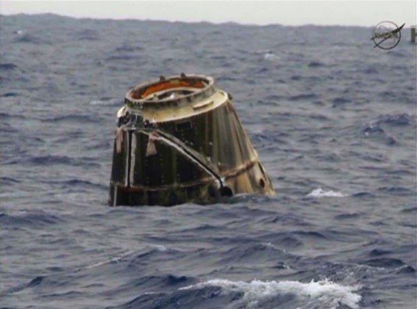 «Прогресс М-28М» затоплен на кладбище космических кораблей