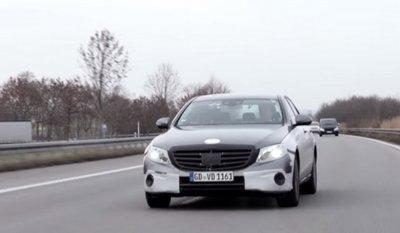 В «Mercedes» показали видеосюжет с новым E-Class