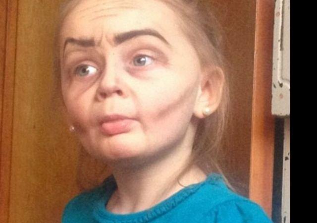 Сперма на лицах русских девочек
