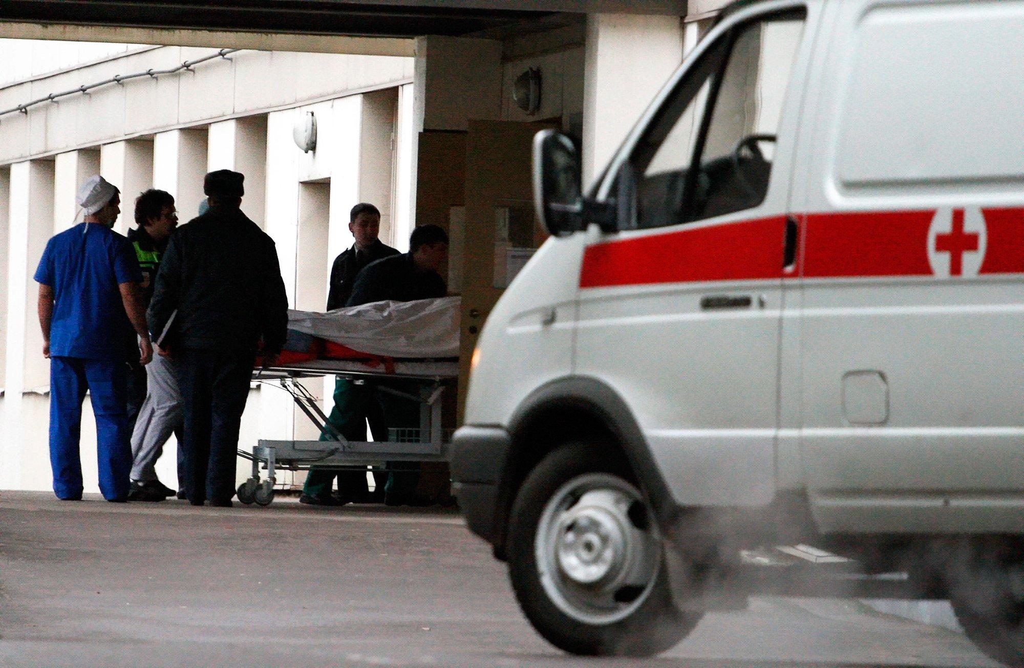 ВПодмосковье ребенок упал сжелезнодорожного моста