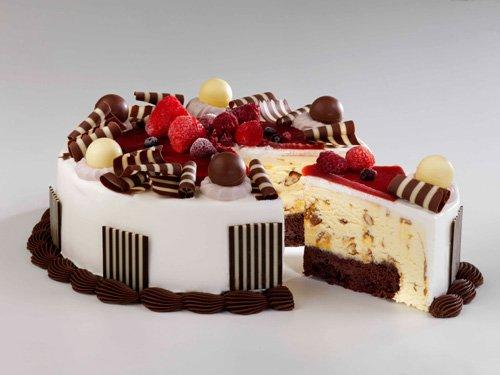 Фото торт-мороженое