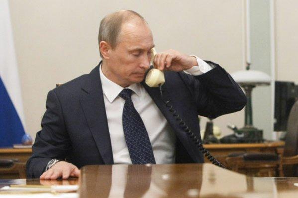 Путин и Ниинистё провели телефонный разговор