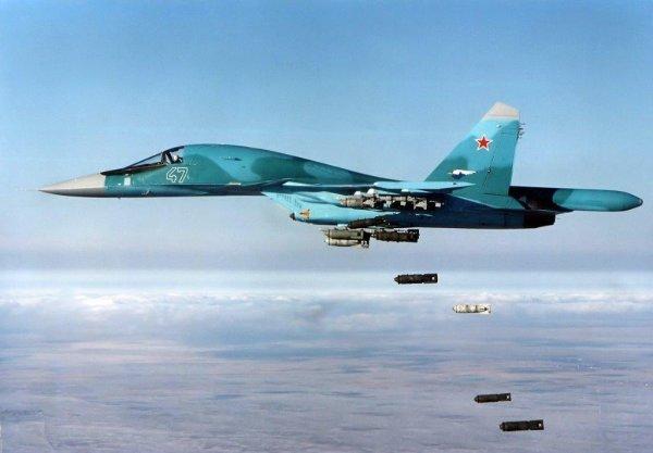 СМИ из США поражены возможностями российского истребителя Су-34 в Сирии
