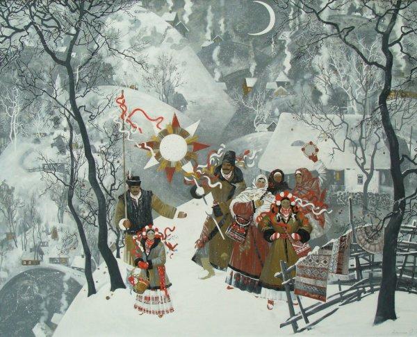 Как отмечали Рождество наши предки?