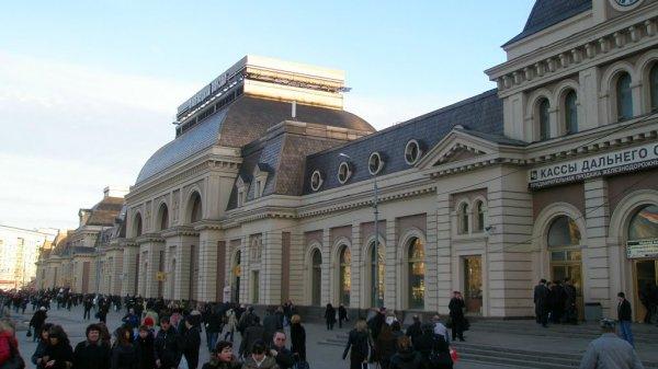 В Москве из-за сообщения о бомбе эвакуировали Павелецкий вокзал