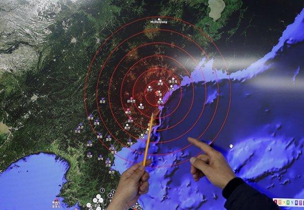 Южная Корея зафиксировала ксенон в атмосфере после испытания КНДР