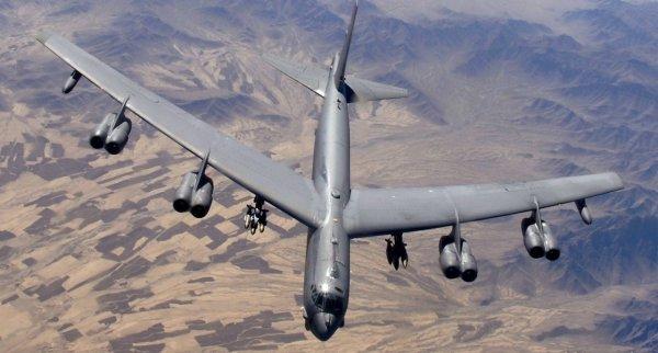 Над Кореей пролетел американский стратегический бомбардировщик B-52