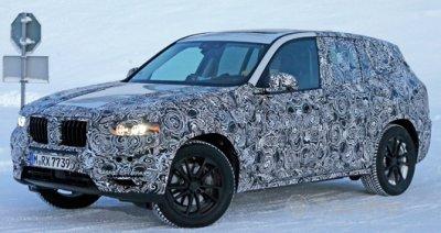 Новый BMW X3 начнут продавать в 2017 году