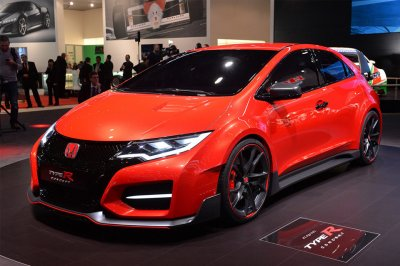Тюнеры подготовили Honda Civic Type R к автосалону в Токио