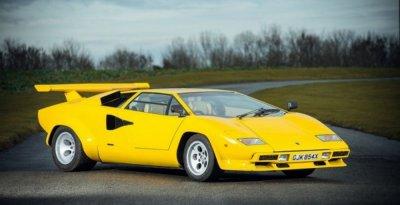 В феврале на аукцион выставят суперкар Lamborghini Countach 400S
