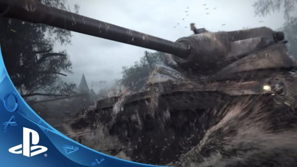 ��������� World of Tanks ����������� �� ������� PlayStation 4