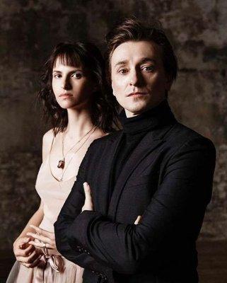 Сергей Безруков и Анна Матисон снялись в романтической фотосессии