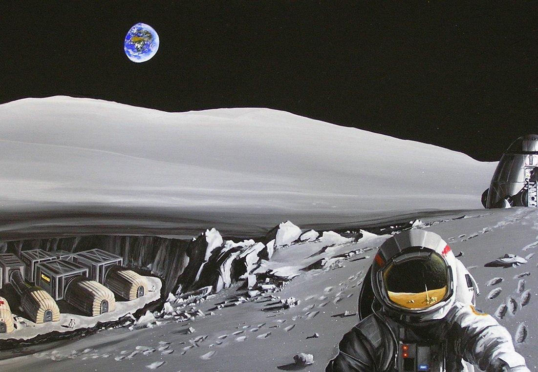 Луна в проекте СССР и США