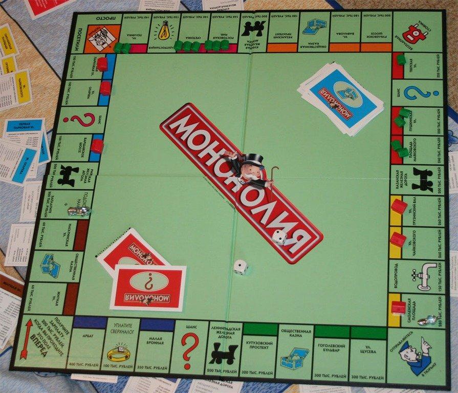 Настольные игры своими руками монополия